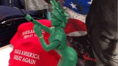 njujork, tramp, kip slobode, suveniri