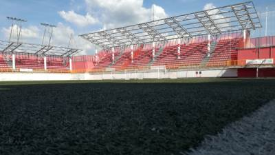 Voždovac, FK Voždovac, stadion Voždovca, stadion na krovu