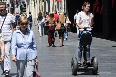 leto, lepo vreme, vrućina, knez mihailova, ulica, beograđani