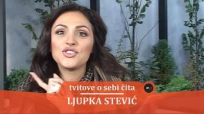 Ljupka Stević, mondo tv, tvitovi, pevačice
