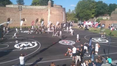 košarka, tereni KK Partizan, KK Partizan, Kalemegdan, tereni na Kalemegdanu