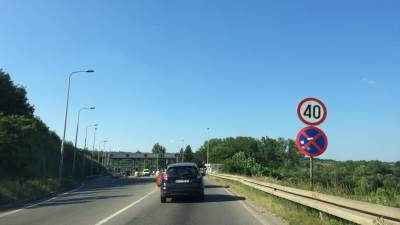 put, vožnja, saobraćaj, putarina, naplatna rampa, automobil