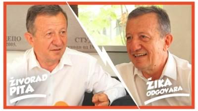 Živorad Nikolić, Žika, Šarenica, TV lica, mondo tv