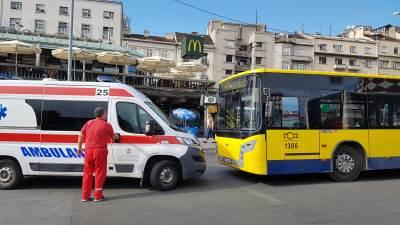 hitna pomoc, autobus, gradski autobus, zeleni venac