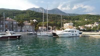 Meljine Lazaret crna gora plaža more brod brodovi primorje crnogorci herceg novi