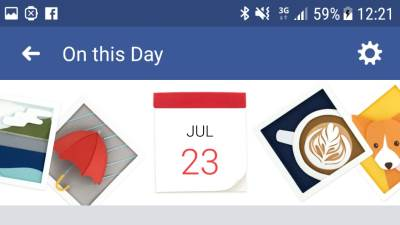 Facebook On This Day kako isključiti