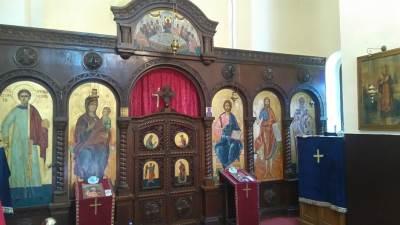 crkva radovanjski lug spc oltar vera vernici pravoslavlje bog