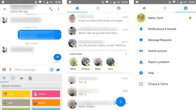 Facebook, Messenger Lite