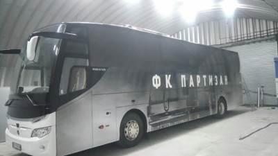 Partizan, autobus Partizana