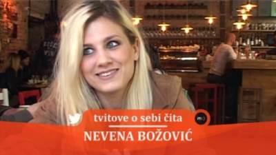 Nevena Božović, tvitovi, mondo tv