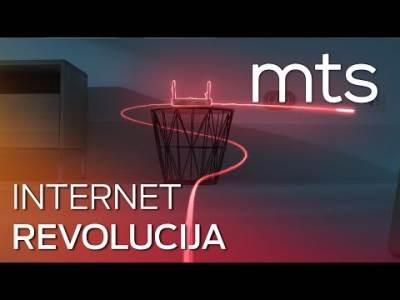 mts optički kabl internet revolucija