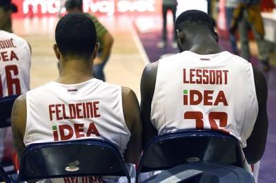 lesor, Matijas Lesor, feldin, kk crvena zvezda, trening, košarkaši, crvena zvezda,