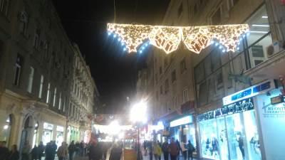 beograd knez mihailova novogodišnja rasveta