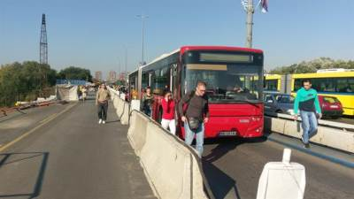 gužve, beograd, autobus, brankov most