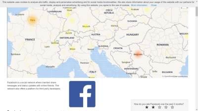 Facebook pao Srbija, Ne radi Facebook, Facebook pao Srbija