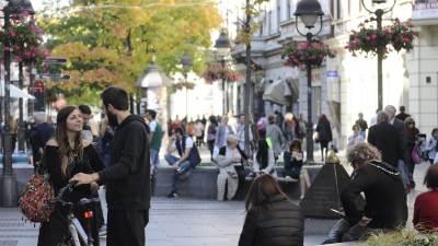 lepo vreme, knez mihailova ulica, beograđani, miholjsko leto,