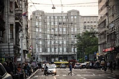 etnogrfski muzej, vasina ulica, saobraćaj, pešaci,