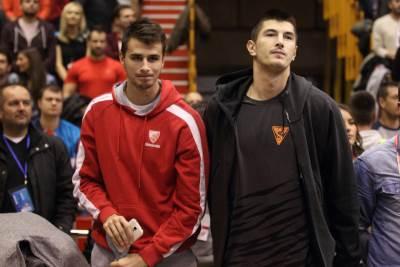 Nemanja Dangubić i Luka Mitrović