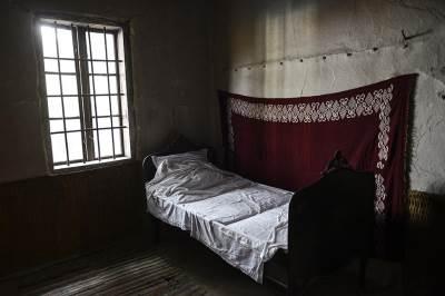 krevet, soba,