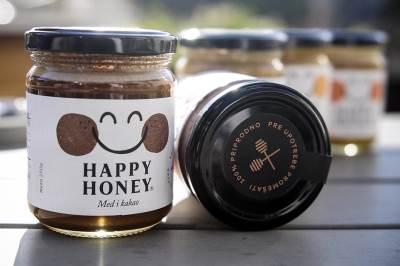 happy honey, med, proizvodnja meda,