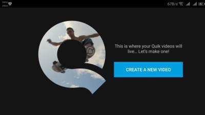 Huawei GoPro Quik aplikacija