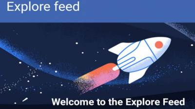 Explore feed, Facebook