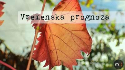 jesen vreme vremenska prognoza list