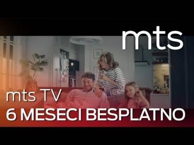 mts TV 6 meseci besplatno