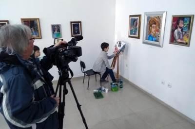 Vuk Milovanović, dečak slikar, požarevac