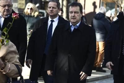oliver ivanović sahrana, ivica dačić