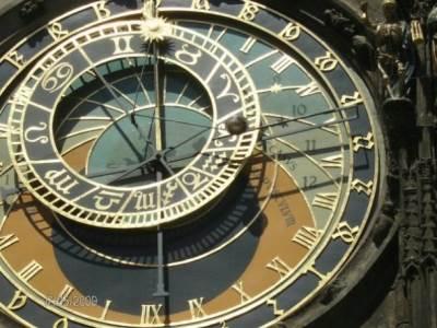 prag, češka, sat, vreme
