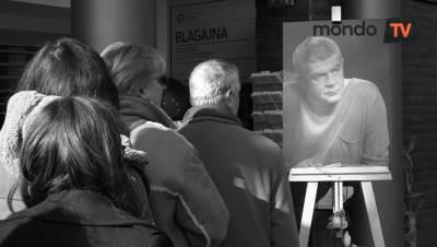 Nebojša Glogovac, smrt, komemoracija