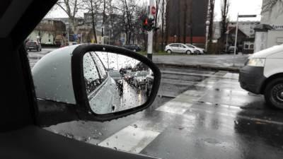 kiša, saobraćaj, automobili, putevi, kolovoz, ogledalo, retrovizor