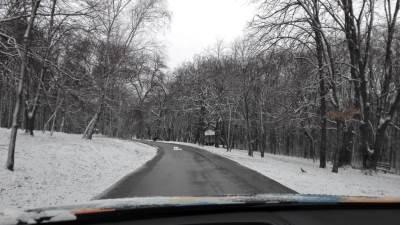 sneg, put, kolovoz, šuma, planina