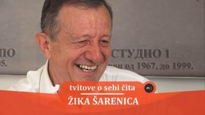 Žika Šarenica, tvitovi, mondo tv