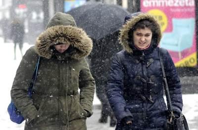 sneg, zima, mećava, zimska jakna, kapuljača