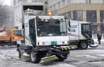 čišćenje ulica, čišćenje snega, posipanje soli, sneg, zima, mećava