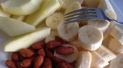 voće, badem, hrana, banane