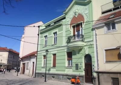 beograd, zgrade, balkon, kosančićev venac