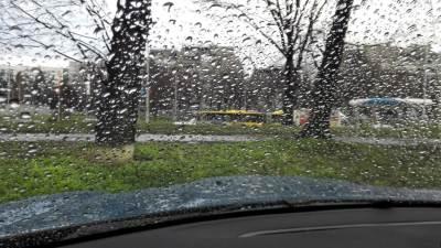 kiša, automobili