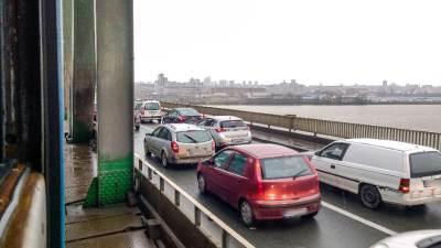 pančevački most, gužva, gužve, saobraćaj, pančevac