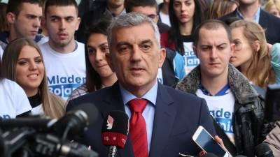 Mladen Bojanić, Crna Gora, crnogorski političar