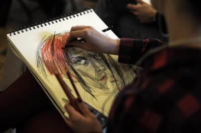 slikanje, crtanje, slikanje po modelu