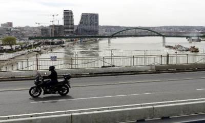 brankov most, beograd na vodi, reka, mostovi, beograd