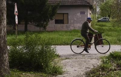 ivanovo, selo, bicikl, vojvodina, banat