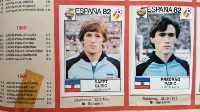 Safet Sušić, Predrag Pašić, Mundijal u Španiji, Španija 1982