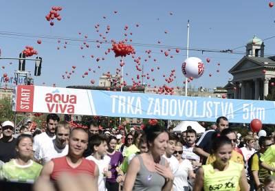 beogradski maraton, trka zadovoljstva
