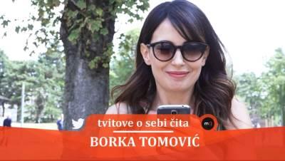 Borka Tomović, glumice, tvitovi, mondo tv