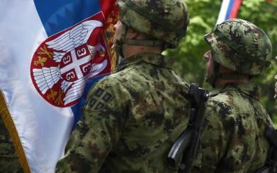garda, vojska srbije