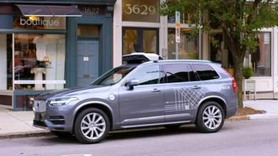 uber, volvo, autonomno vozilo